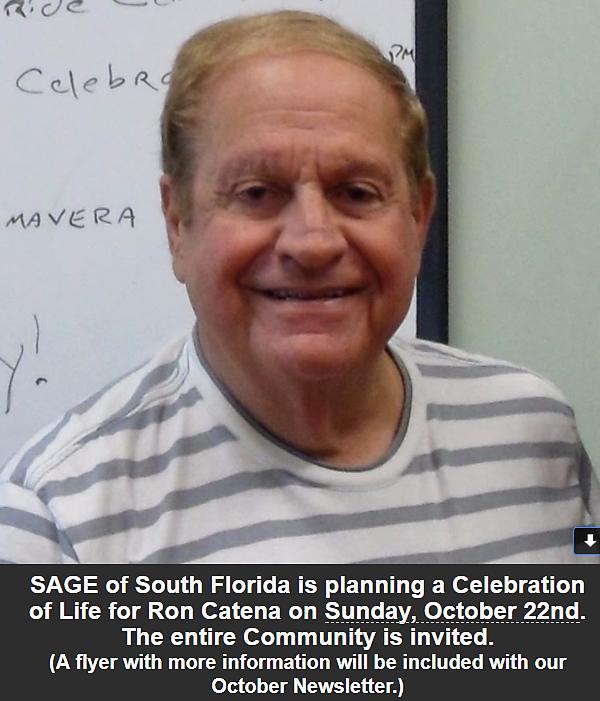 Sage seniors in a gay environment
