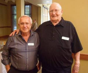 Al Spiess (left) & Jack Myers (right) Lifetime Members