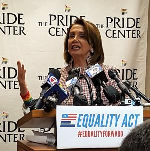 Pride Center Welcomes Nancy Pelosi