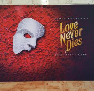 SAGE Attends Love Never Dies