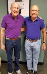 Mark Barron & Joel Rubin 5 Yr Pins