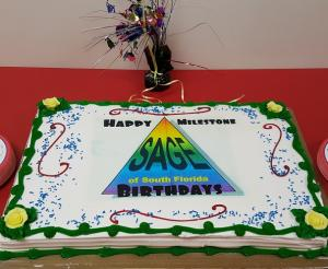 SAGE Celebrates Milestone Birthdays