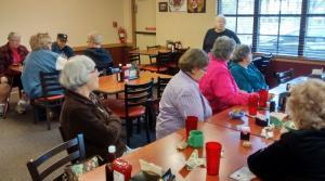 Nancy Drennen heads the SAGE Women's Lunch